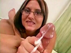 How do you like our POV with a sperm fountain?